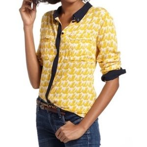 Anthro's Maeve Bagatelle horse equine button up